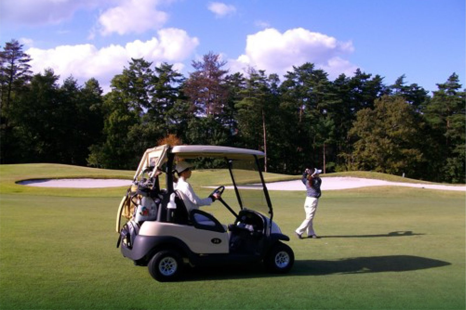 New lithium powered golf carts