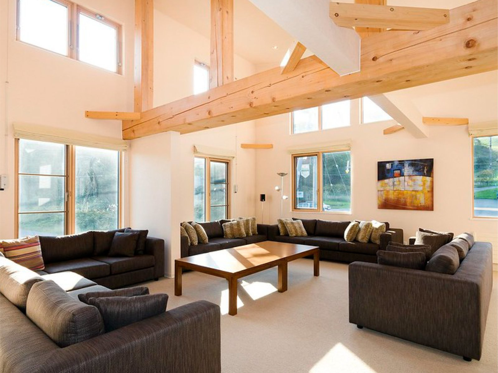 Sunny living are of Niseko Gondola Chalets