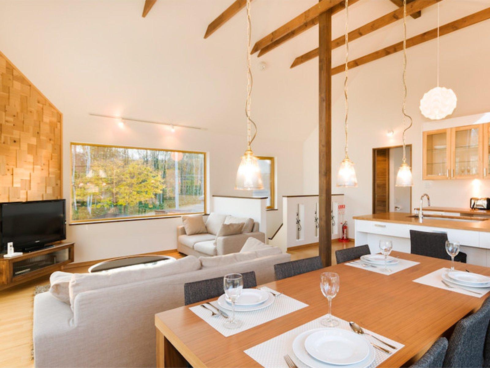 Living room of Hana&Jo in Niseko