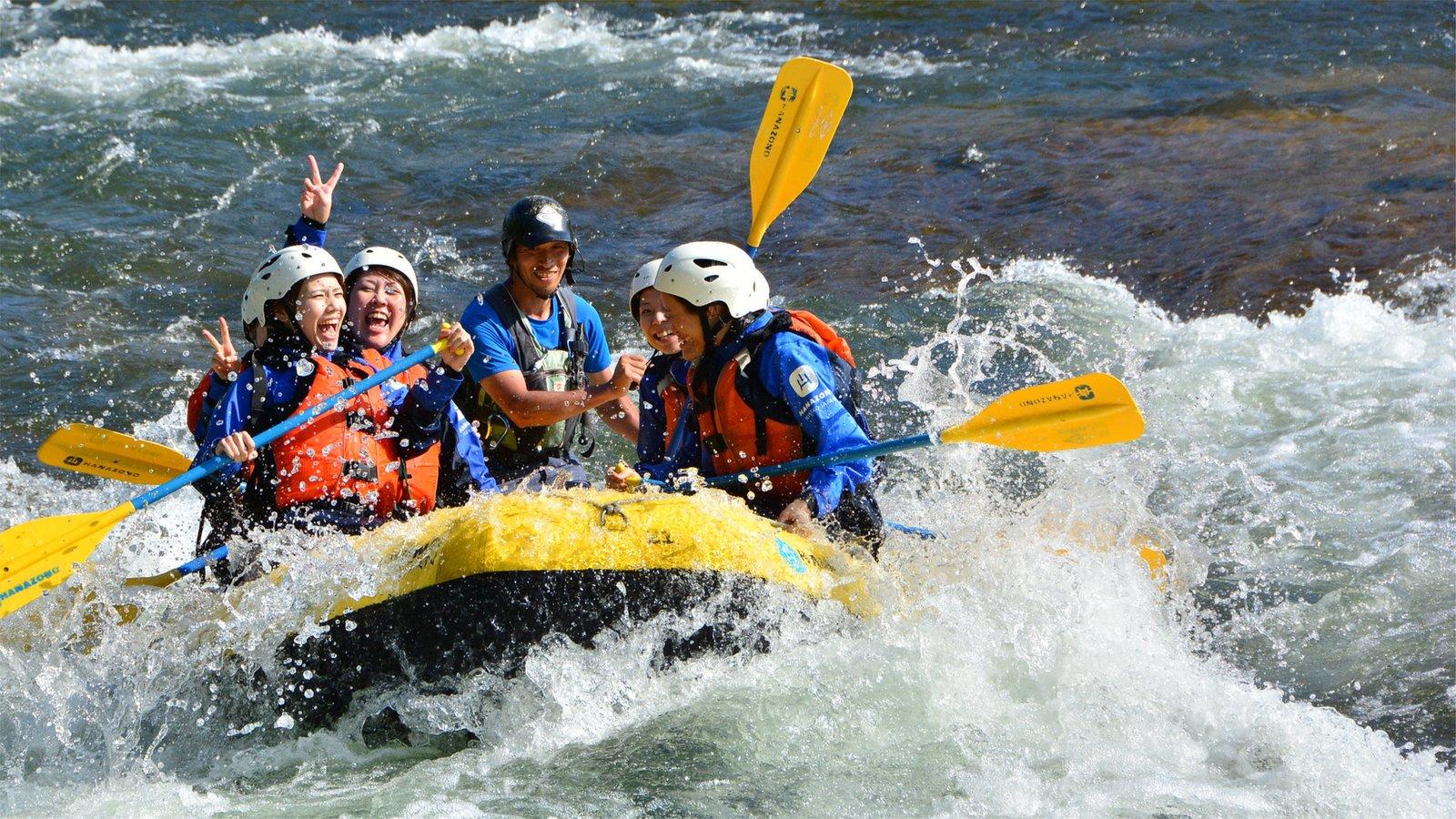 Whitewater rafting in Niseko, Hokkaido