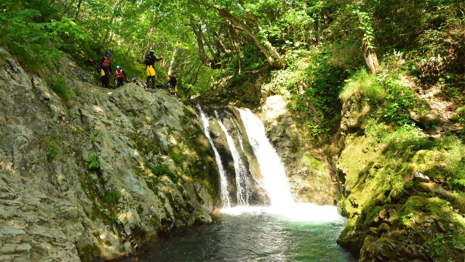 Canyoning tour in Niseko Hanazono Resort in Hokkaido