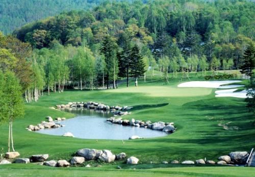 Hanazono golf hole 17 thumbnail